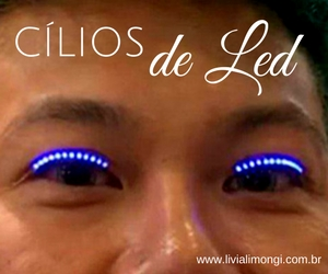 Cílios de Led
