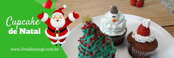Cupcake de Natal