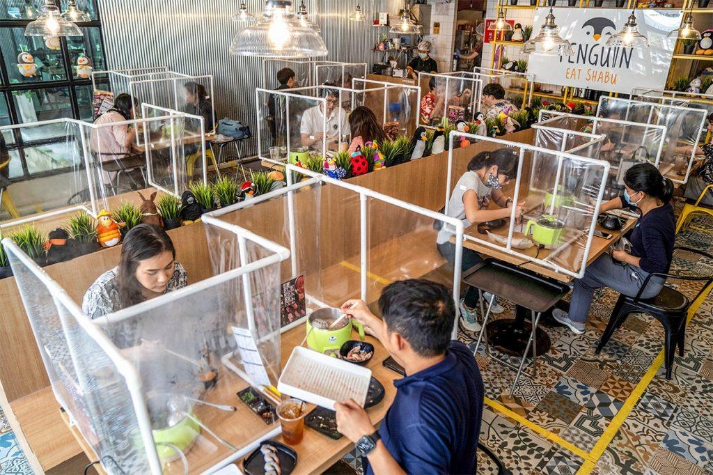 Restaurantes pós pandemia